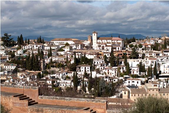Vista del Albaicín desde la Alhambra © Roberto Lacalle