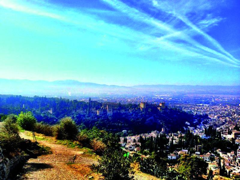 Vista de la Alhambra desde San Miguel Alto