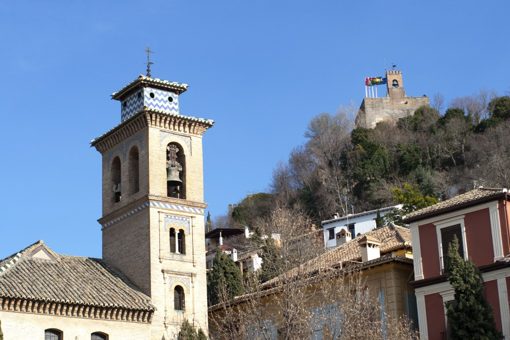 La torre de la vela desde Plaza Nueva. Roberto Lacalle