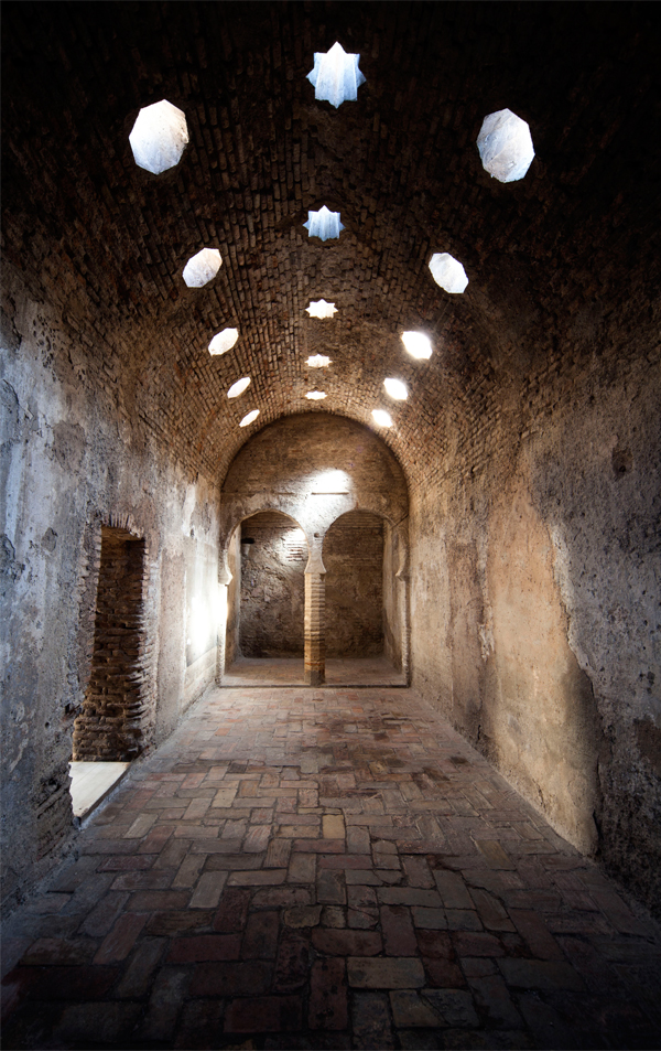 Imagen del interior del Bañuelo. Fotografía Roberto Lacalle